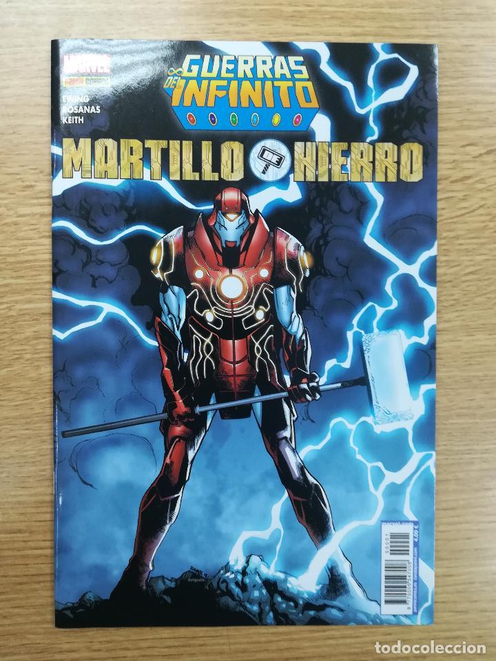 GUERRAS DEL INFINITO MARTILLO DE HIERRO (Tebeos y Comics - Panini - Marvel Comic)