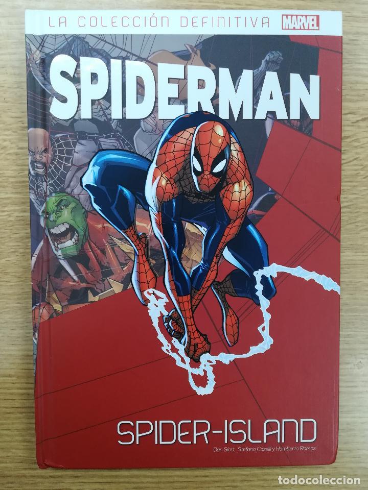 SPIDERMAN LA COLECCIÓN DEFINITIVA #58 SPIDER-ISLAND (Tebeos y Comics - Panini - Marvel Comic)