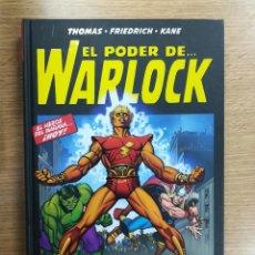 Cómics: EL PODER DE WARLOCK LA SAGA DE LA CONTRA-TIERRA (100& MARVEL HC). Lote 155257652