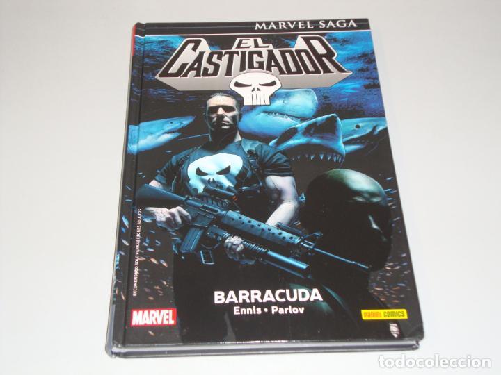 MARVEL SAGA EL CASTIGADOR 7 BARRACUDA (Tebeos y Comics - Panini - Marvel Comic)