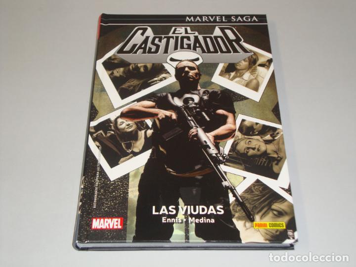 MARVEL SAGA EL CASTIGADOR 10 LAS VIUDAS (Tebeos y Comics - Panini - Marvel Comic)