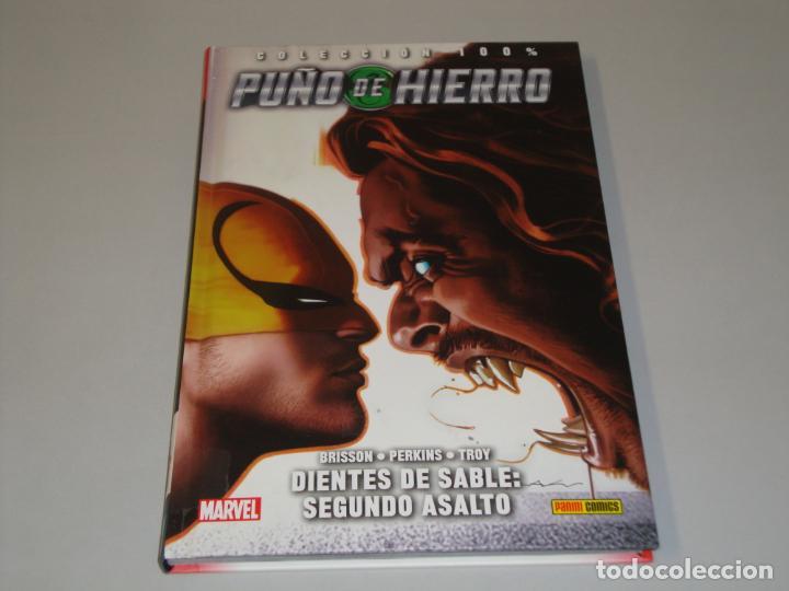 COLECCION 100 % PUÑO DE HIERRO 2 DIENTES DE SABLE: SEGUNDO ASALTO (Comics und Tebeos - Panini - Marvel Comic)