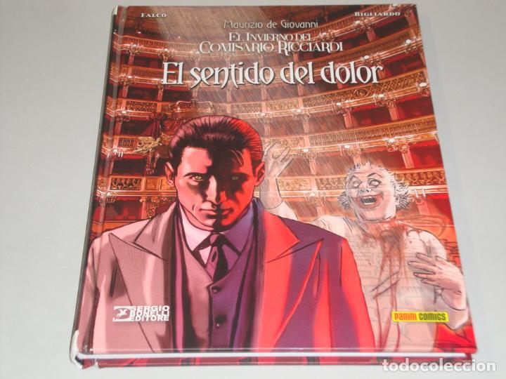 EL INVIERNO DEL COMISARIO RICCIARDI EL SENTIDO DEL DOLOR (Tebeos y Comics - Panini - Otros)