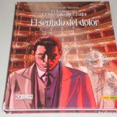 Cómics: EL INVIERNO DEL COMISARIO RICCIARDI EL SENTIDO DEL DOLOR. Lote 155335774