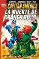 Lote 155492558: Marvel Gold. Capitán América: La Muerte de Cráneo Rojo Panini Cómics