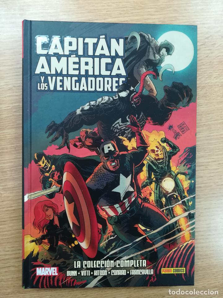 CAPITAN AMERICA Y LOS VENGADORES LA COLECCIÓN COMPLETA (100% MARVEL HC) (Tebeos y Comics - Panini - Marvel Comic)