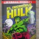 Cómics: EL INCREIBLE HULK - PERDONADO - MARVEL HEROES - BUSCEMA - BILL MANTLO - PANINI. Lote 155763290