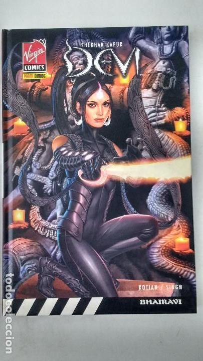 DEVI - SHEKHAR KAPUR / SIDDHARTH KOTIAN / VIRGIN COMICS / P.V.P.12,95€ - NOVELA GRAFICA 120 PAGINAS (Tebeos y Comics - Panini - Otros)