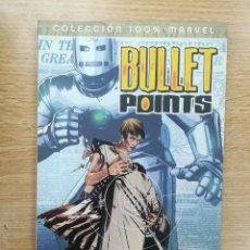Cómics: BULLET POINTS EN EL PUNTO DE MIRA (100% MARVEL). Lote 155939645