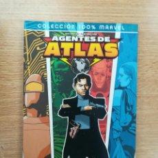 Cómics: AGENTES DE ATLAS EL PLAN MAESTRO (100% MARVEL). Lote 155939689