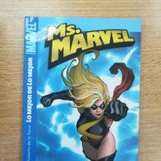 Cómics: MS MARVEL #1 LO MEJOR DE LO MEJOR. Lote 155939709