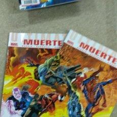Cómics: ULTIMATE MUERTE COMPLETA - 2 NUMEROS - MARVEL - PANINI . Lote 155993826