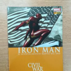 Cómics: IRON MAN CIVIL WAR. Lote 156155592