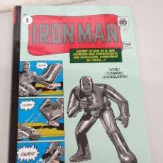 Cómics: IRON MAN 1 - MARVEL GOLD ¡ TOMO 544 PAGINAS ! STAN LEE - JACK KIRBY - STEVE DITKO / PANINI. Lote 156261926