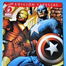 Cómics: LOS NUEVOS VENGADORES EDICIÓN ESPECIAL VOL. 1 - Nº 6 ''MUY BUEN ESTADO''. Lote 156280450