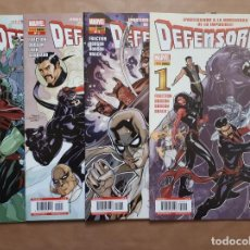 Cómics: DEFENSORES 1 2 3 Y 4 - FRACTION Y DODSON - PANINI - JMV. Lote 157257738