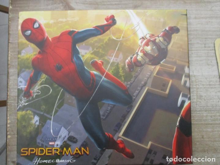 SPIDERMAN - HOME COMING - EL LIBRO DE ARTE DE LA PELICULA - STORY BOARD - TAPA DURA 256 PAGINAS (Tebeos y Comics - Panini - Marvel Comic)