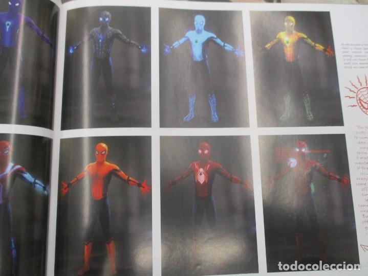 Cómics: SPIDERMAN - HOME COMING - EL LIBRO DE ARTE DE LA PELICULA - STORY BOARD - TAPA DURA 256 PAGINAS - Foto 3 - 157439562
