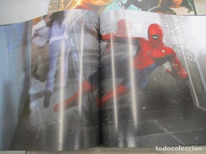 Cómics: SPIDERMAN - HOME COMING - EL LIBRO DE ARTE DE LA PELICULA - STORY BOARD - TAPA DURA 256 PAGINAS - Foto 7 - 157439562