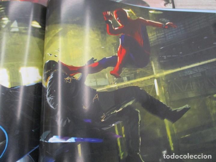 Cómics: SPIDERMAN - HOME COMING - EL LIBRO DE ARTE DE LA PELICULA - STORY BOARD - TAPA DURA 256 PAGINAS - Foto 8 - 157439562