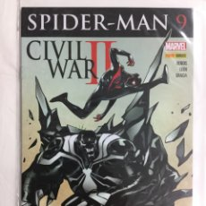 Cómics: SPIDER-MAN 9 (GRAPA) - BENDIS, LEÓN, GRACIA - PANINI / MARVEL. Lote 158231024