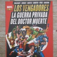 Cómics: MARVEL GOLD - LOS VENGADORES - LA GUERRA DEL DOCTOR MUERTE - PANINI. Lote 158300574