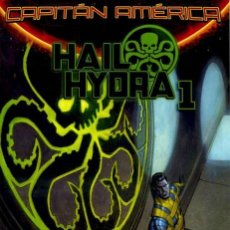Cómics: CAPITÁN AMÉRICA V8: HAYL HIDRA 1 SECRET WARS - EJEMPLAR 57 - PANINI MARVEL. Lote 158911638