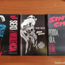 Cómics: SIN CITY - NÚMEROS ESPECIALES (3). Lote 159156202
