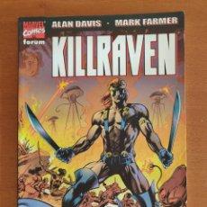 Cómics: KILLRAVEN - LA GUERRA DE LOS MUNDOS - FORUM. Lote 159156438