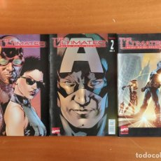Cómics: THE ULTIMATES VOL 1 Y VOL. 2 ¡ COMPLETAS ! MARK MILLAR / MARVEL - FORUM. Lote 159158622