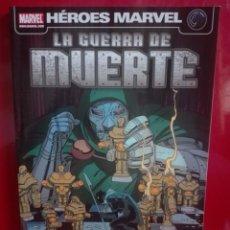 Cómics: HEROES MARVEL LA GUERRA DE MUERTE# I. Lote 159884882
