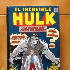 Cómics: MARVEL GOLD OMNIGOLD EL INCREIBLE HULK - STAN LEE JACK KIRBY DITKO SEVERIN KANE - PANINI. Lote 160022370