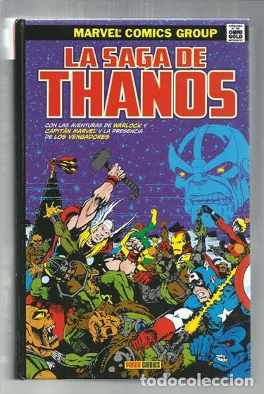 LA SAGA DE THANOS, 2017, PANINI, IMPECABLE (Tebeos y Comics - Panini - Marvel Comic)