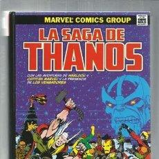 Comics: LA SAGA DE THANOS, 2017, PANINI, IMPECABLE. Lote 160407826