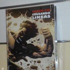 Cómics: SHANG-CHI CRUZANDO LINEAS MARVEL LIMITED EDITION - PANINI. Lote 187299748