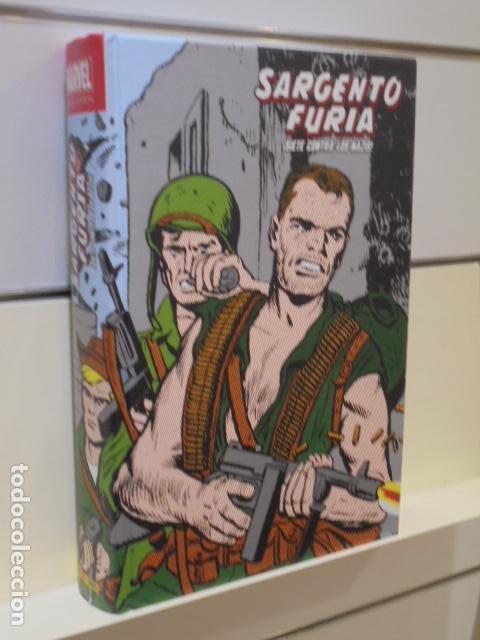 SARGENTO FURIA SIETE CONTRA LOS NAZIS MARVEL LIMITED EDITION - PANINI (Tebeos y Comics - Panini - Marvel Comic)