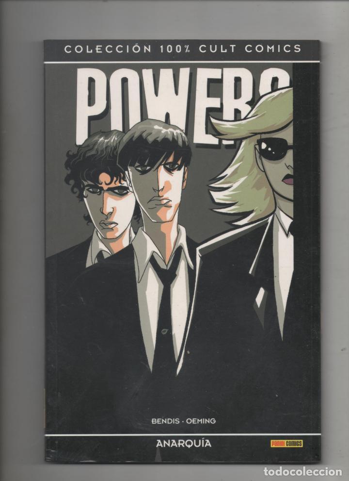 POWERS 5: ANARQUIA. BENDIS-OEMING. COLECCIÓN 100% CULT COMICS (Tebeos y Comics - Panini - Otros)