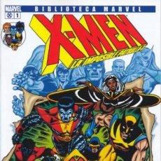 Cómics: BIBLIOTECA MARVEL X-MEN COMPLETA 28 TOMOS - PANINI - COMO NUEVOS. Lote 161296686