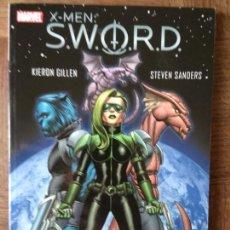 Cómics: X-MEN SWORD - GILLEN & SANDERS- TOMO 1 AL 5 ORIGINAL USA -. Lote 266843924