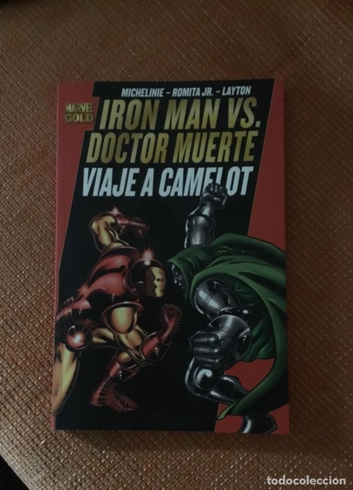 MARVEL CÓMIC IRON MAN VS DOCTOR MUERTE VIAJE A CAMELOT (Tebeos y Comics - Panini - Marvel Comic)