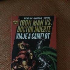 Cómics: MARVEL CÓMIC IRON MAN VS DOCTOR MUERTE VIAJE A CAMELOT. Lote 161933546