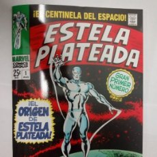 Cómics: MARVEL FACSÍMIL. ESTELA PLATEADA (GRAPA) - PANINI / MARVEL. Lote 174462447