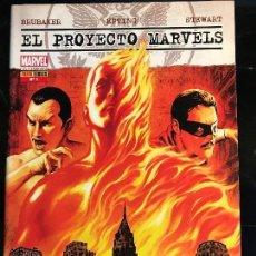 Cómics: EL PROYECTO MARVELS 1. Lote 162407886