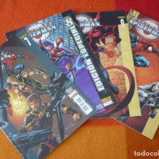Cómics: ULTIMATE SPIDERMAN VOL. 2 NºS 7, 8, 9 Y 10 ( BENDIS BAGLEY ) ¡MUY BUEN ESTADO! PANINI MARVEL. Lote 162481346