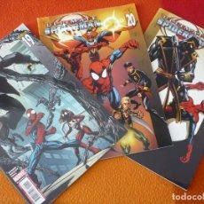 Cómics: ULTIMATE SPIDERMAN VOL. 2 NºS 19, 20 Y 21 ( BENDIS BAGLEY ) ¡MUY BUEN ESTADO! PANINI MARVEL. Lote 162481598