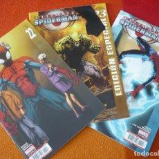 Cómics: ULTIMATE SPIDERMAN VOL. 2 NºS 22, 23 Y 24 ( BENDIS BAGLEY ) ¡MUY BUEN ESTADO! PANINI MARVEL. Lote 162481622