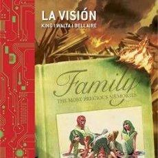 Cómics: LA VISIÓN - MARVEL INTEGRAL - TOM KING GABRIEL HERNÁNDEZ WALTA - PANINI. Lote 162505262