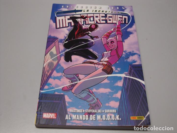 COLECCION 100% LA INCREIBLE MASACRE-GWEN 2 AL MANDO DE M.O.D.O.K (Tebeos y Comics - Panini - Marvel Comic)