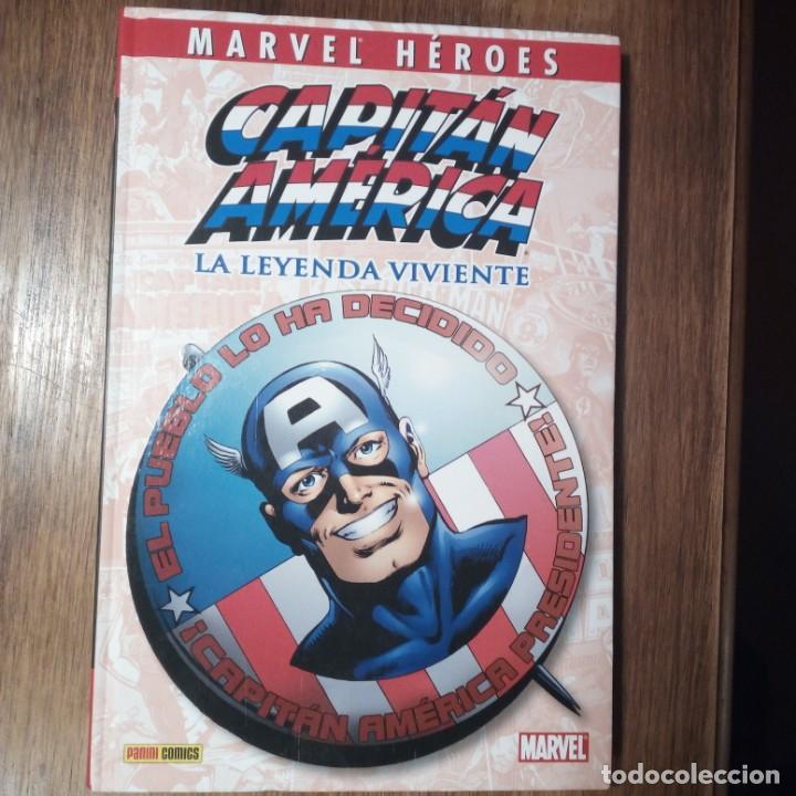 MARVEL HÉROES. CAPITÁN AMÉRICA. LA LEYENDA VIVIENTE. JOHN BYRNE, ROGER STERN. PANINI CÓMICS. (Tebeos y Comics - Panini - Marvel Comic)