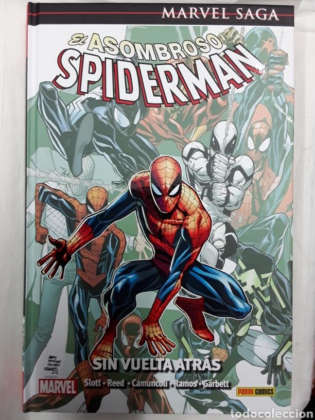 EL ASOMBROSO SPIDERMAN 37 (MARVEL SAGA) - SLOTT, REED, CAMUNCOLI, RAMOS, GARBETT - PANINI / MARVEL (Tebeos y Comics - Panini - Marvel Comic)